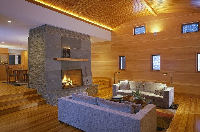 pine wall paneling