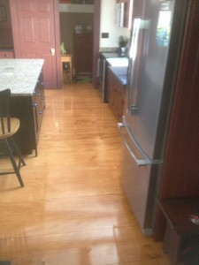 Pine Flooring, Oakland Maine