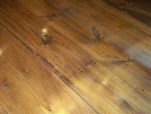 old pine flooring